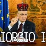 Re Giorgio, larghe intese e austerita'