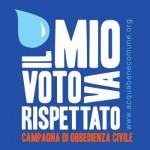 Acqua pubblica: rispettare il voto