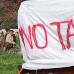 La Valsusa resiste contro la violenza del TAV.