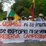 Al Quimbo insieme alle comunita' contadine