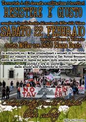 Corteo NO TAV in solidarietà con la Valsusa @ TRENTO | Trento | Trentino-Alto Adige | Italia