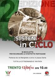 Resistenza in ciclo @ Trento via Marighetto | Trento | Trentino-Alto Adige | Italia