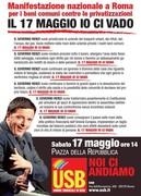 Manifestazione Nazionale 'IO CI VADO' @ Roma   Roma   Lazio   Italia