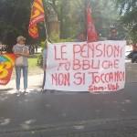 Festival economia: la protesta di USB e SBM
