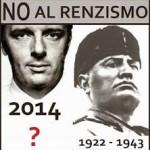 Non ci arrenziamo. Domani si contesta Renzi
