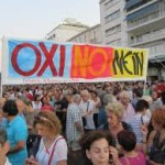 Il popolo greco ha detto OXI ( No) all'austerity