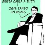 Renzi, Olivi e  gli effetti del jobs act