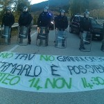 Trento: I No TAV bloccano la trivella