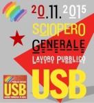 Sciopero 20 npvembre 2015