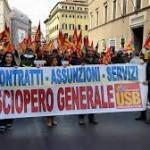 20 Novembre 2015, sciopero del Lavoro Pubblico
