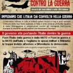 Sabato 12 tutti a Vicenza contro la guerra