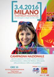 Assemblea iscritti e delegati USB @ Milano   Milano   Lombardia   Italia