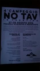 4° campeggio NO TAV - Trento @ Acquaviva di besenello