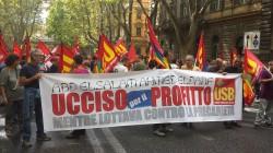 Piacenza: Manifestazione per ABD ELSALAM AHMED ELDAFN