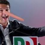 Renzi: il nuovo pinocchio