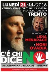 Incontro con Ovadia - Un motivo per votare NO  @ Trento   Vigolo Baselga   Trentino-Alto Adige   Italia