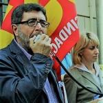 Aggredito a Napoli un dirigente sindacale della USB.