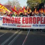 In piazza contro UE, Euro e Nato