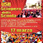 17 marzo: Sciopero della Scuola!