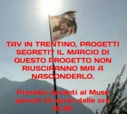 TAV: presidio al Muse di Trento @ Muse di Trento | Trento | Trentino-Alto Adige | Italia