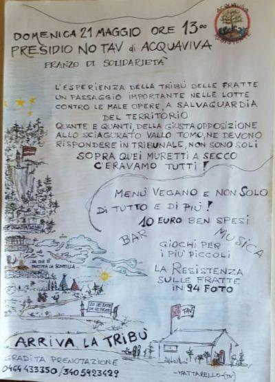 Pranzo solidale con la tribù della Fratte @ acquaviva   Mattarello   Trentino-Alto Adige   Italia