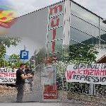 Sciopero e presidio alla Glas  Müller di Bolzano