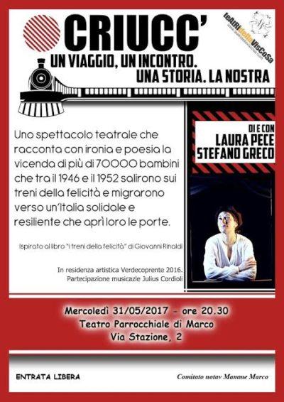 Criucc' Un viaggio, un incontro, una storia. La nostra @ marco di rovereto   Marco   Trentino-Alto Adige   Italia