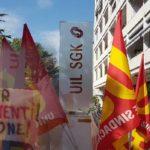 Glas Müller: dopo la Cgil, oggi il presidio alla Uil