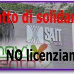 Sait: lottiamo per il Contratto di solidarietà