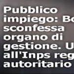 INPS: No al concorso truffa voluto da Boeri