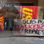 Glas Müller: No licenziamenti, No repressione