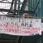 Sciopero dei lavoratori AMR di Rovereto