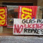 Glas Müller: presidio contro i licenziamenti