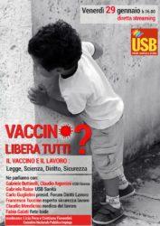 USB Nazionale - Rapporto fra vaccino e lavoro - diretta streaming @ streaming